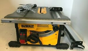 DEWALT DWE7485 8-1/4 in. Compact Jobsite Table Saw, GR