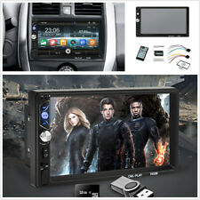 7in Touch Screen 2Din Car Stereo Radio Bluetooth Mp5 Player Interior Accessories