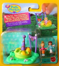 Bluebird #mattel 1997 Polly Pocket Fun Fair Silly Spinner Vintage Set Mosc