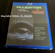 Alligator 1 & 2 Blu-ray Double Feature Movies 1980 1991 Manufactured On Demand