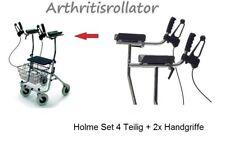 Arthritis Holme Set 4 Stück Rollator Umbau + Handgriffe Bremsgriffholme 6 Teilig