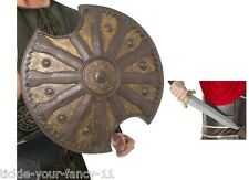 Men's Teens 300 Spartan Sword and Shield Combo Roman Gladiator Accessory Costume
