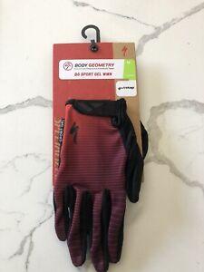 Specialized BG Sport Gel Glove LF Womens Medium Cycling MTB