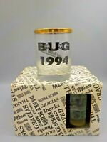 Vintage 1994 Intel Pentium Thank You Drink Glass Set Computer BUG FDIV Processor