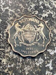 1981 Botswana 1 Pula Lot#Z9322 High Grade! Beautiful!