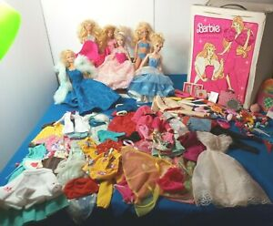 BARBIE VIN.LOT OF 120+ DOLLS-CLOTHING-ACCES. 1966 TO 2013 TWIST AND TURN DOLLS