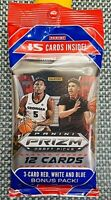 New 2020-2021 Panini Prizm Basketball Draft Picks Sealed Cello Fat Pack 15 cards