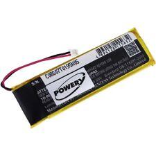 Akku für Midland Bluetooth Headset BTX2 3,7V 950mAh/3,5Wh Li-Polymer Schwarz