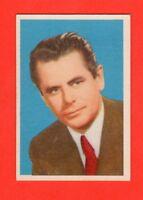 1950's Parkhurst Movie & TV Stars # 16   Glenn Ford   Set Break Rare