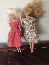 Vintage 1966 Lot Of 2 Barbie  Dolls