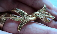 Gold Plated No Bead/ Stone Vintage Costume Jewellery (1970s)