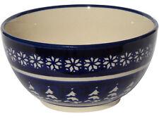Polish Pottery Ice Cream / Cereal Bowl  from Zaklady Boleslawiec 971/243a