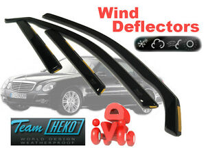 MERCEDES E W203  2000 - 2007  5.doors SALOON Wind deflectors  4.pc  HEKO  23267