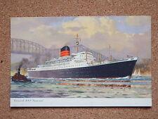 R&L Postcard: Cunard RMS Saxonia B970