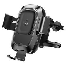 kfz handy halterung auto qi wireless charger mit schnellladefunktion baseus