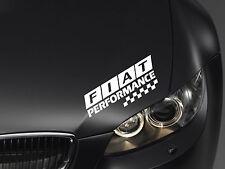 Performance Aufkleber passt Fiat 126 500 Stilo Panda Freemont Coupe Emblem Logo