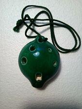 More details for langley d ceramic 6 hole pendant ocarina.