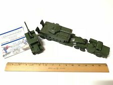 3 DINKY TOYS MIGHTY TANK TRANSPORTER 660-CENTURION TANK 651 & RECOVERY TRACTOR