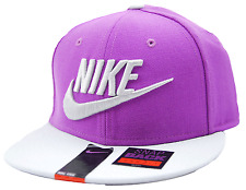 Nike Limitless Embroidered Logo Snapback Flat Bill Cap Hat OSFM