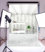 3x5FT Vinyl Photo Backdrops White Home Decor Photography Background Studio Props