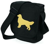 Golden Retriever Bag Dog Walkers Birthday Gift Retriever Bags Beige or Gold dog