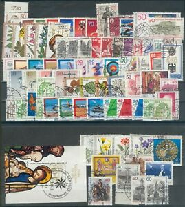 Berlin Lot Marken- aus Jahrgang 1978-1980o, Michel 57€