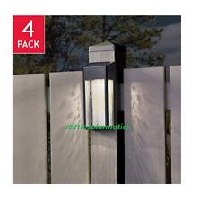 Paradise Solar 4 LED 10 Lumen Accent Lights Deck Dock Fence Garden Patio
