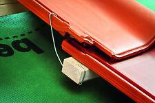 ECO Seitnfalzklammer Sturmklammer Ziegelklammer  typ 435 100 Stück aus 2mm Draht