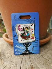Disney Cast Alice In Wonderland Music To My Ears Hinged Book Le Moc Htf Pin