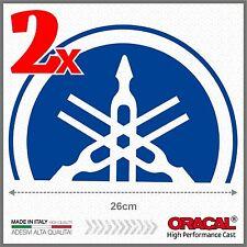 2x Blue Yamaha Tmax 01-07 BIG Diapason Scudo ADESIVI PEGATINA STICKERS