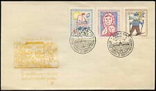 Czechoslovakia 1958 UNESCO Headquarters FDC First Day Cover #C23945