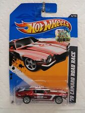 Hot Wheels 2012 Factory Set SUPER  TREASURE HUNT  '70 CAMARO ROAD RACE