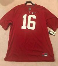 Men's Nike Playoff Alabama Crimson Tide Jersey 16 SIZE XL $110 NWT