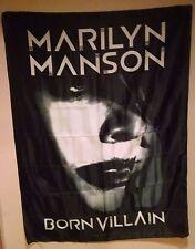 Marilyn Manson Born Villain Cd Cover Cloth Fabric Poster Flag Textile Banner-New