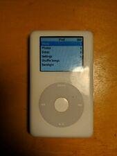 Apple iPod photo classic 4th Generation White (30 GB)