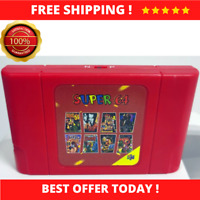 New DIY 340 in 1 Retro Super 64 Game Card Cartridge for Video Game Console