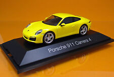 Herpa 071086  Porsche 911 Carrera 4 Coupé -  racing gelb - Scale 1/43
