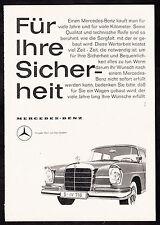 3w2099/ Alte Reklame von 1960 - MERCEDES BENZ