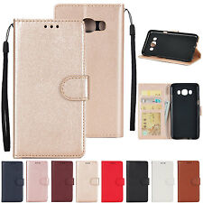 HS Business Magnetic Leather Card Wallet Stand Flip Case Cover For Lot Phones