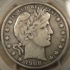 1908-O Barber Half Dollar 50c PCGS Certified VF20
