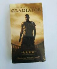 Gladiator (Vhs, 2000) Russell Crowe Joaquin Phoenix Oliver Reed