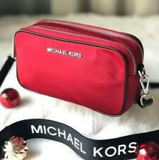 Authentic Michael Kors Connie Nylon Camera Bag