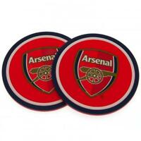 Arsenal Fc 2 Pack Mug Coaster Coasters Gift Set