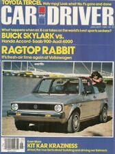 CAR & DRIVER 1980 JAN - HARDY & BECK, KELMARK, SR5