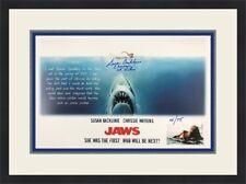 Jaws Susan Backlinie Autographed Limited Edition Custom Framed Free Ship