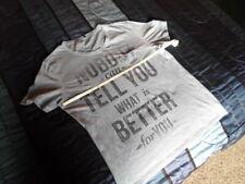 UNITED COLORS OF BENETTON Men's Tee T-shirt Size S/M BlueGray.