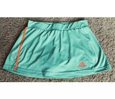 ADIDAS Womens XS Seafoam Green Blue Orange GOLF TENNIS Short Skort Skirt Fitness