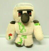 MINECRAFT Plush Happy Explorer Iron Golem Mojang Jinx 8'' StuffedToy