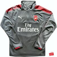 Authentic Puma Arsenal 2017/18 1/4 Zip Training Top. Size M, Excellent Cond.
