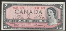 1961/72 Canada 2 Dollar Note